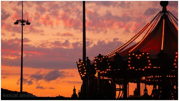 manège sunset