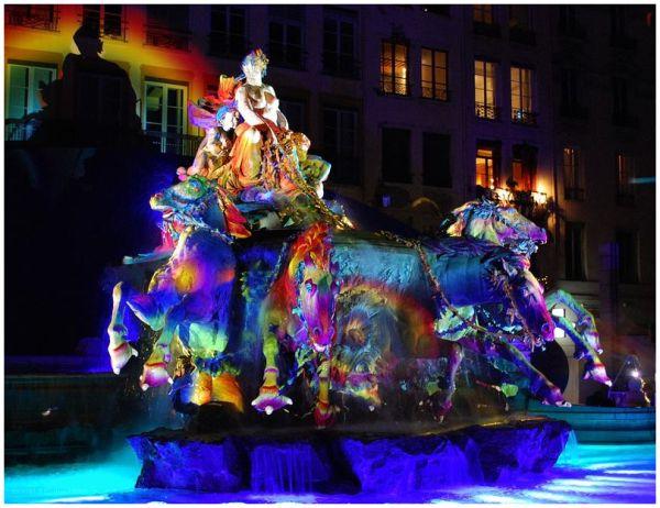 Fêtes des lumières 2010 Lyon