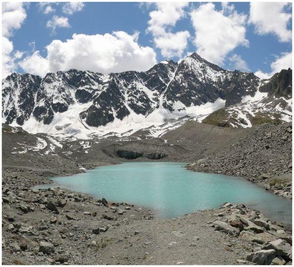 Arsine lac glacier