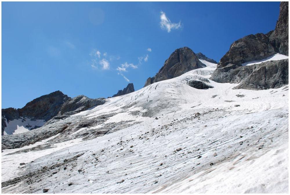 Le glacier...