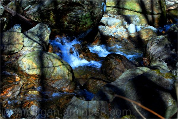 rushing water in rock creek north carolina