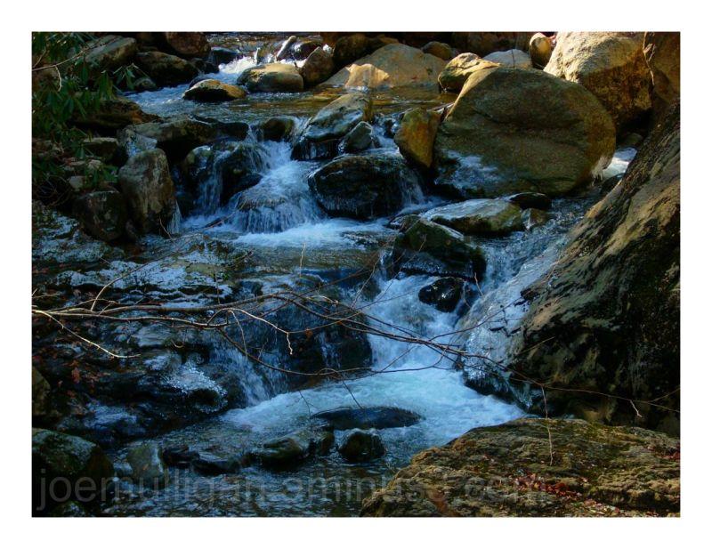 fading light rapids waterfall