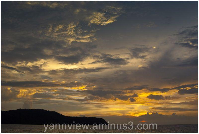 Sunset at Sungai Petani, Kedah, Malaysia
