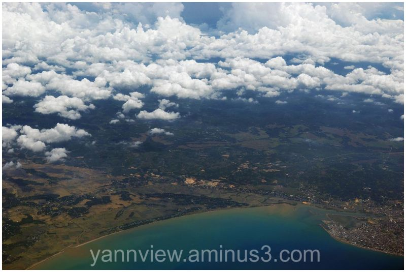 Bird eye view of North Sumatra