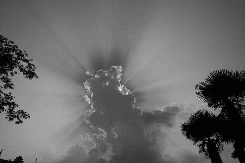 the sun under the cloud,  escape