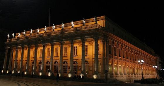 """grand théâtre de Bordeaux """"by night"""""""