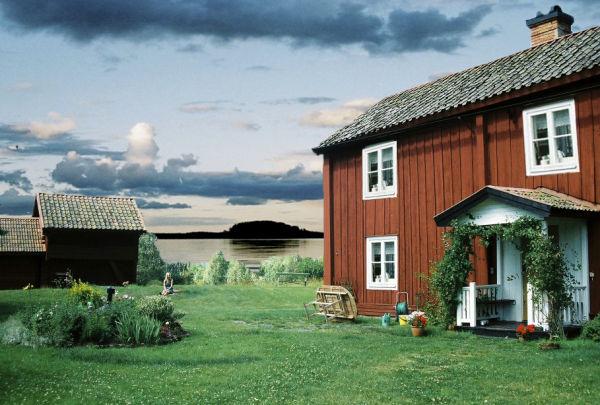 A Scandinavian Country home