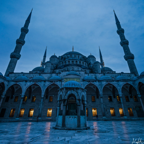 Sultan Ahmet Mosque in the morning