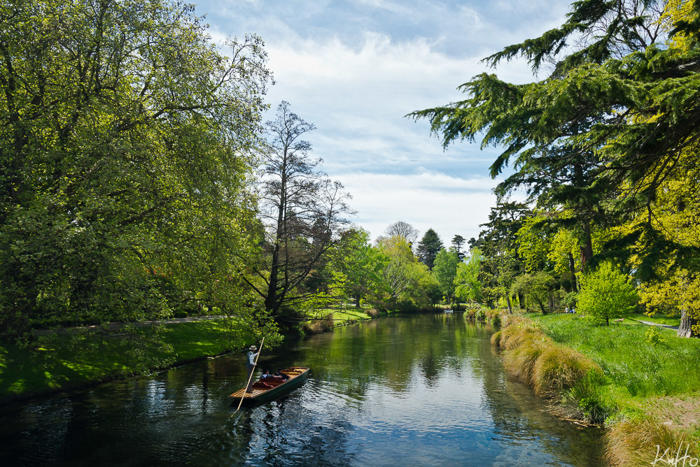 Gondola in Christchurch Botanic Gardens