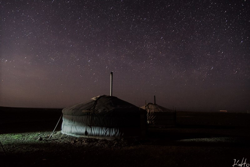 nightsky in mongolia