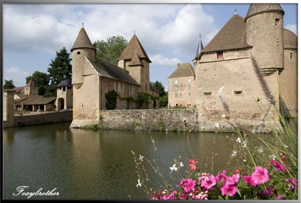 "Castle of "" La Clayette"" (2/3)"