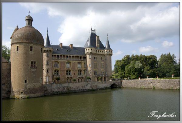 "Castle of "" La Clayette"" ( 3/3)"