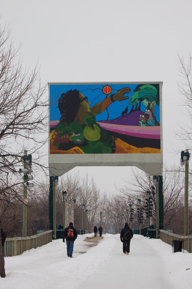 Mural At the Forks