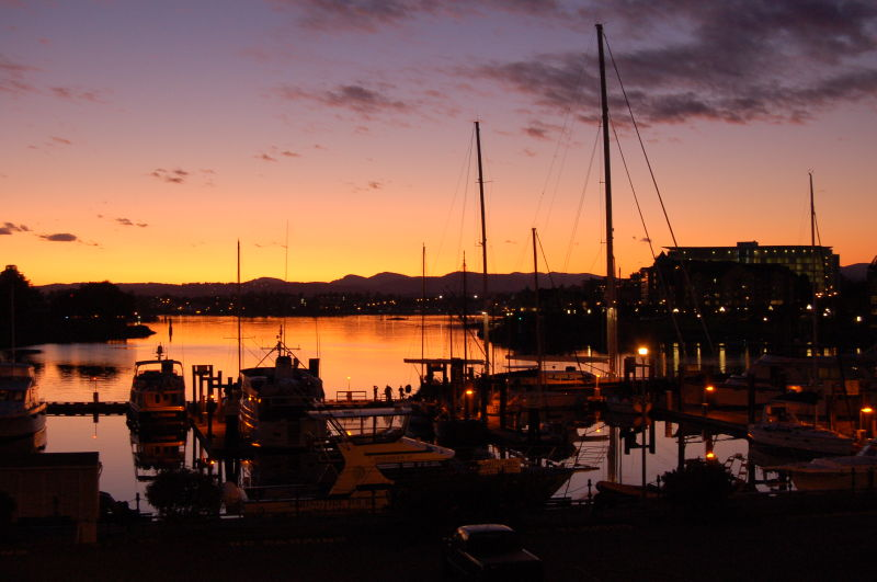 Victoria in the Evening