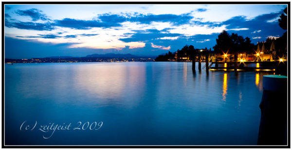 Looking Out from Sirmione