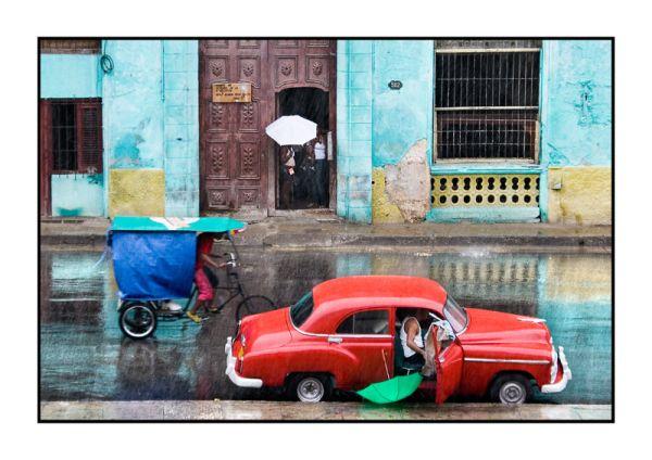 rain at La Habana