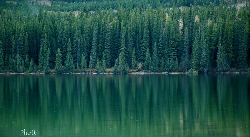 Jasper lakes