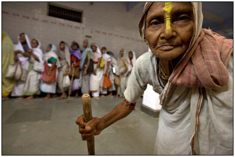 Savitri widow vrindavan