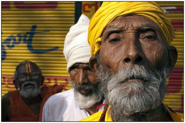 Sadhus. Rishikesh
