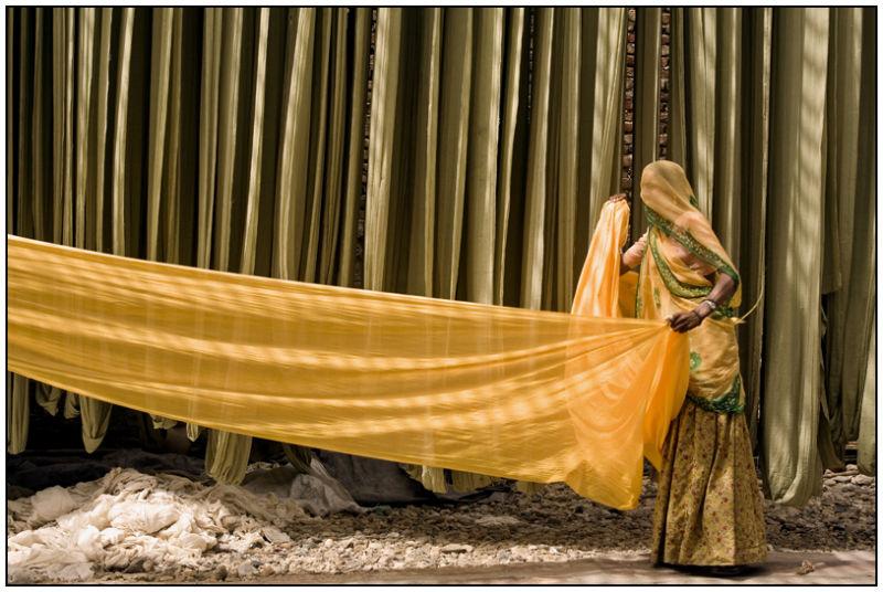 saris in Rajasthan