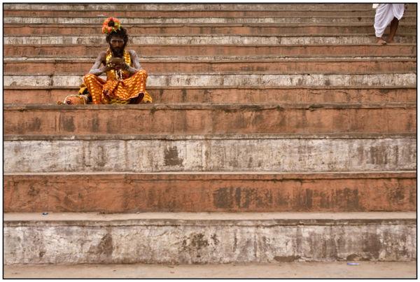 sadhus. Varanasi