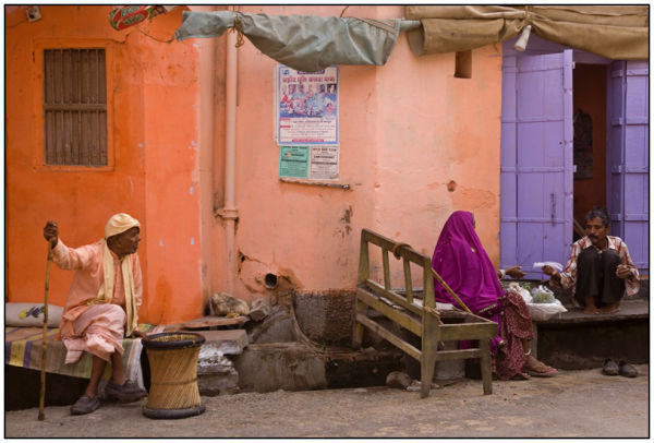 Purple. Pushkar