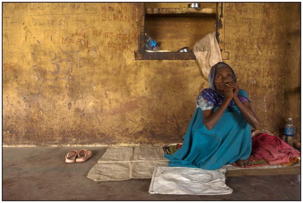 a widow in Varanasi