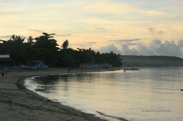 Sunrise at Laiya