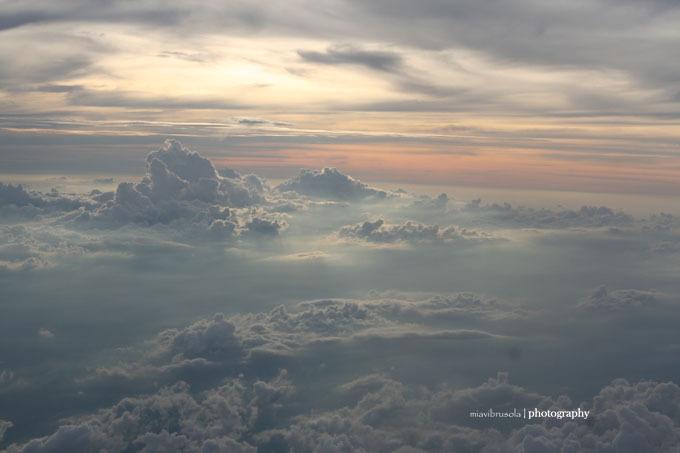 view of sky, approaching ao nang krabi, thailand