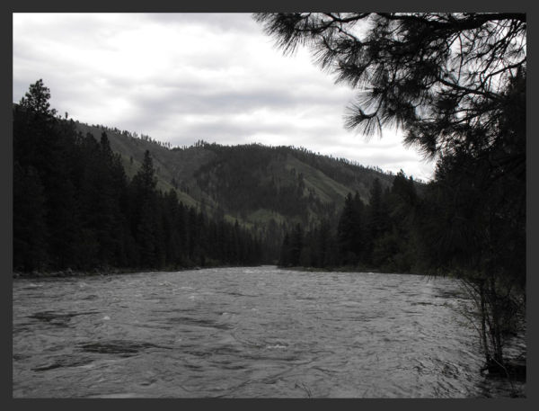 Payette River, spring flood