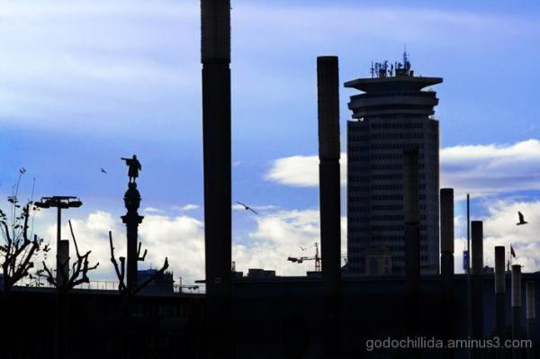 Barcelona silhouettes