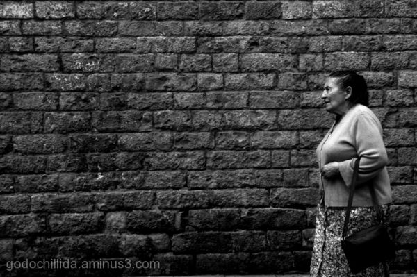Street Woman Barcelona Gothic