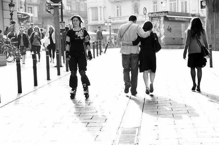 skater light street