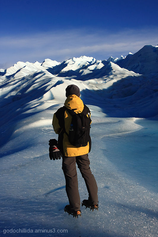 Me Patagonia PeritoMoreno Glacier
