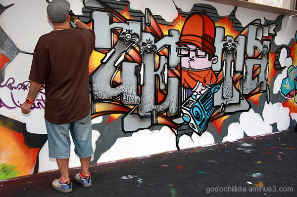 Graffiti Hipnotik Barcelona 2009
