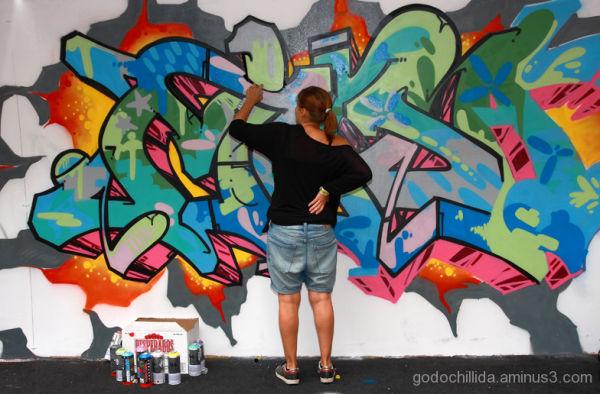 graffiti barcelona hipnotik 2009
