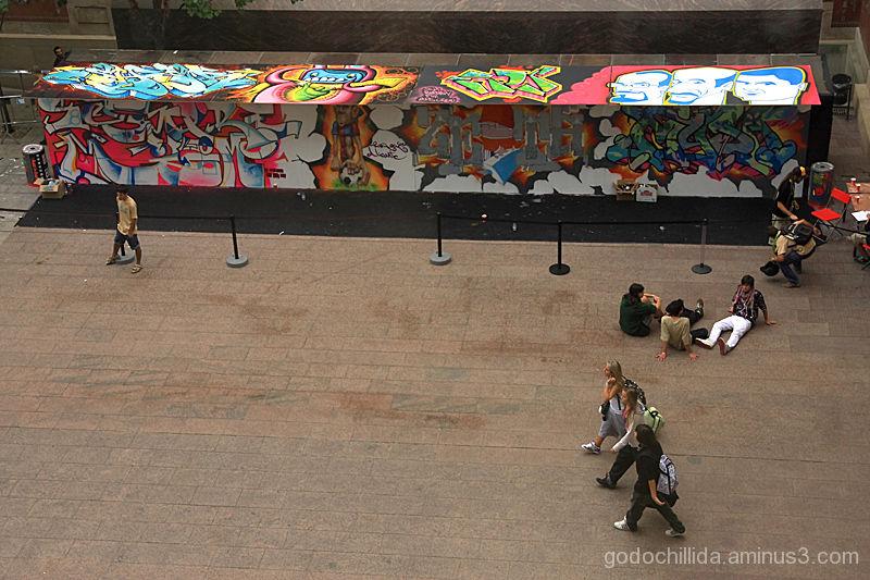 Graffiti barcelona hipnotik works