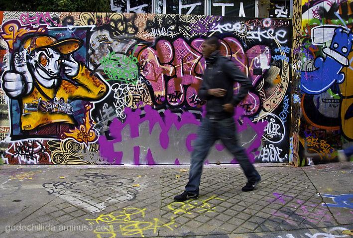 Graffiti, Paris, Street