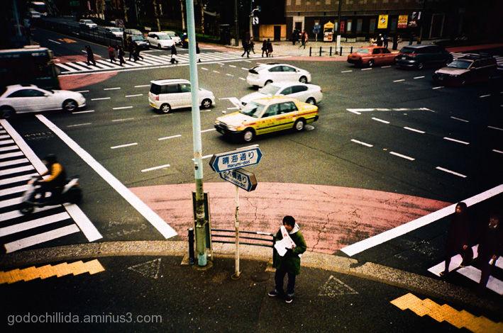 Japan; Tokyo, Lomo; Ginza