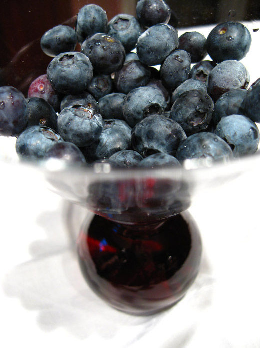 bowl of blueberries I