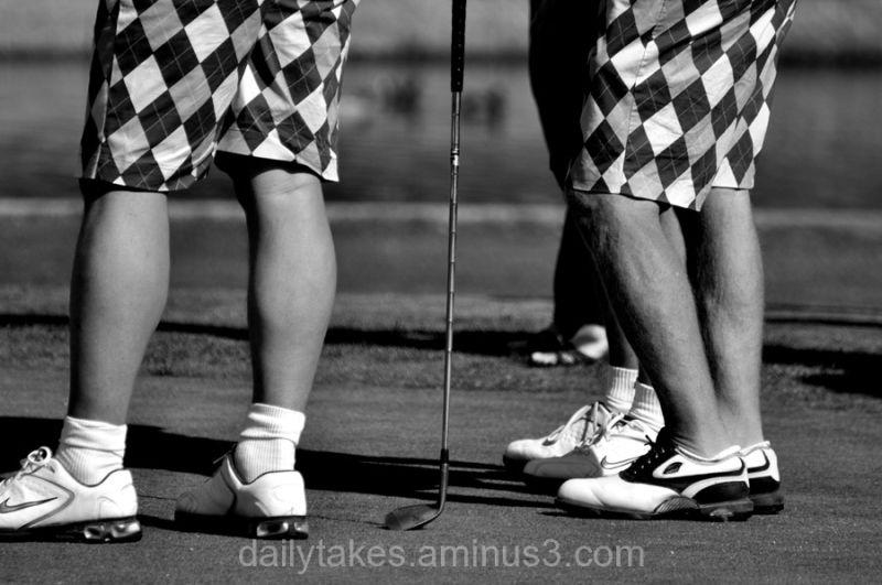 golf tournament finery