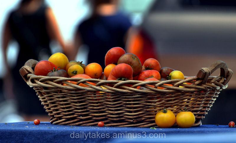 farmers market ....