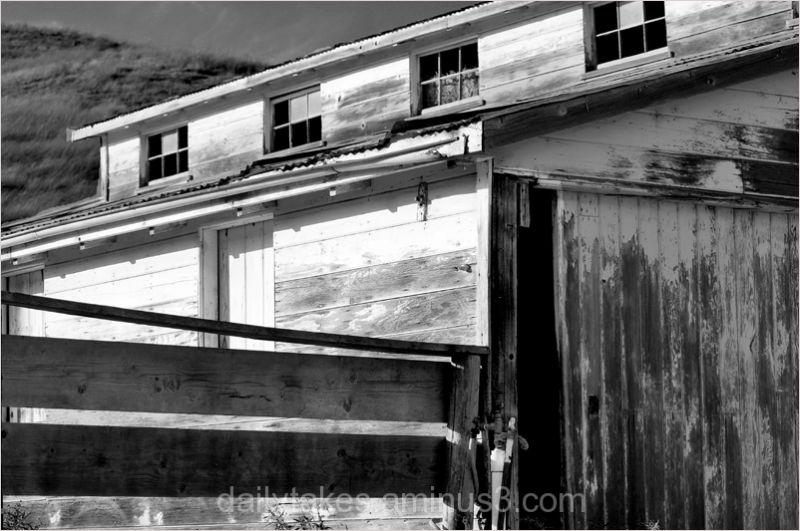 open barn door....