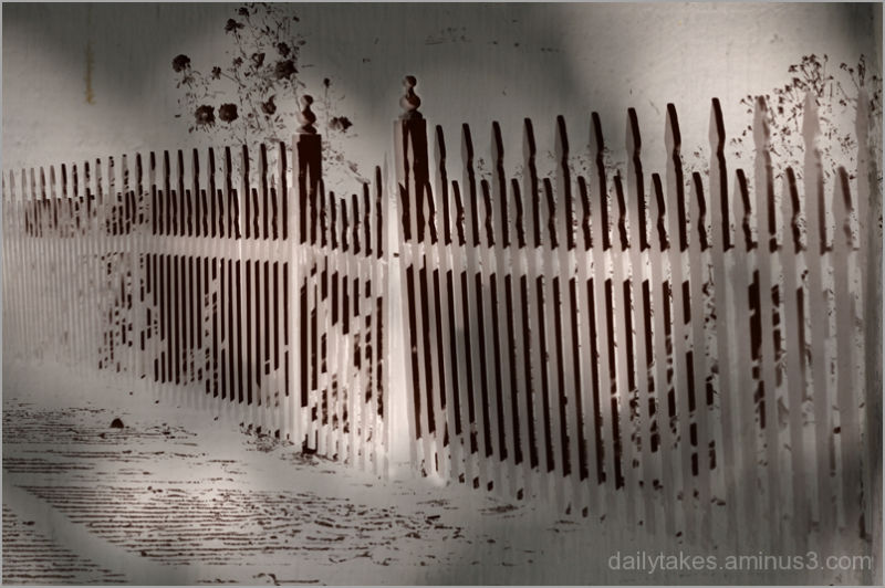 picket fence ....