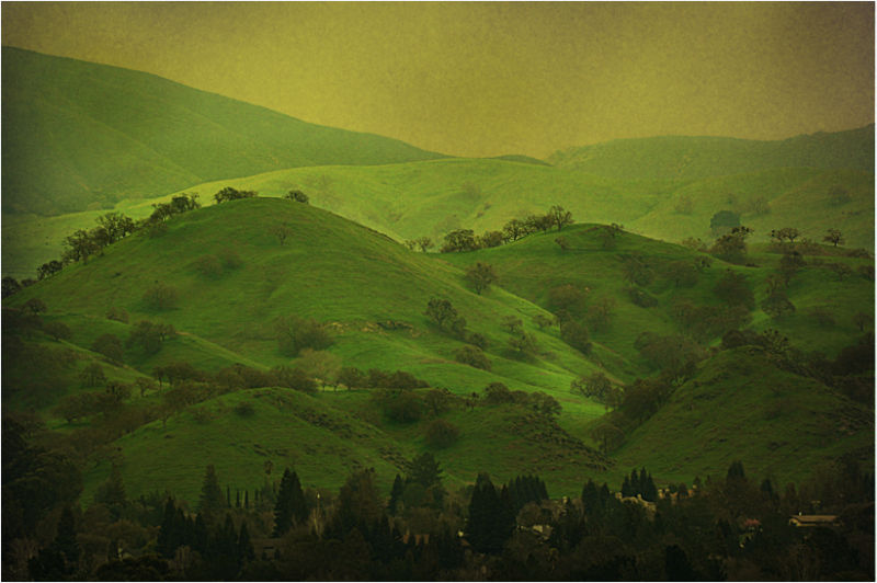 "...""those green green hills of home""...."