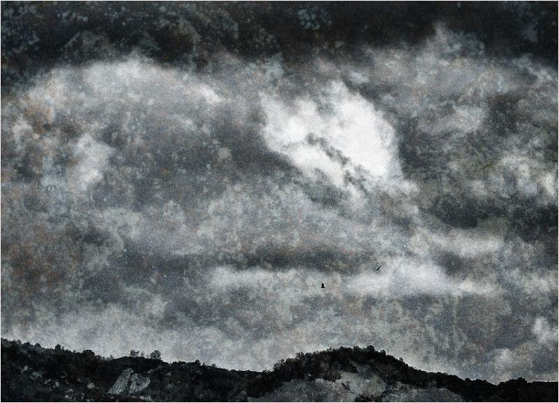 threatening skies ....