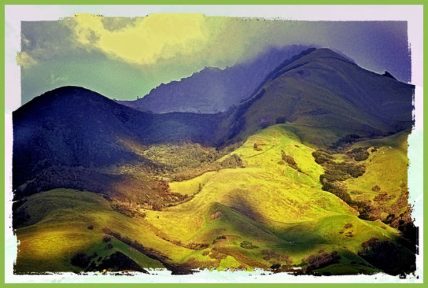 """... those green green hills of home ...""  3"