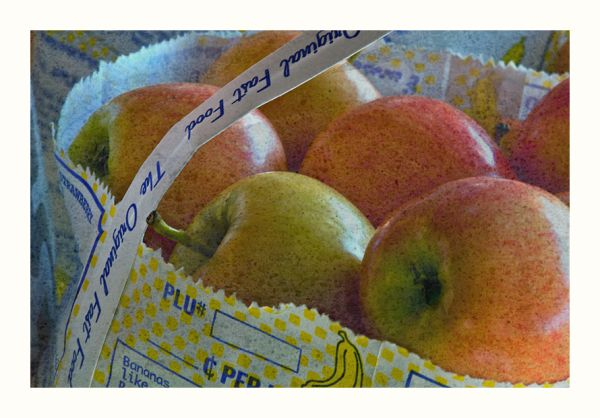 A is for Apple : The Organic Fast Food