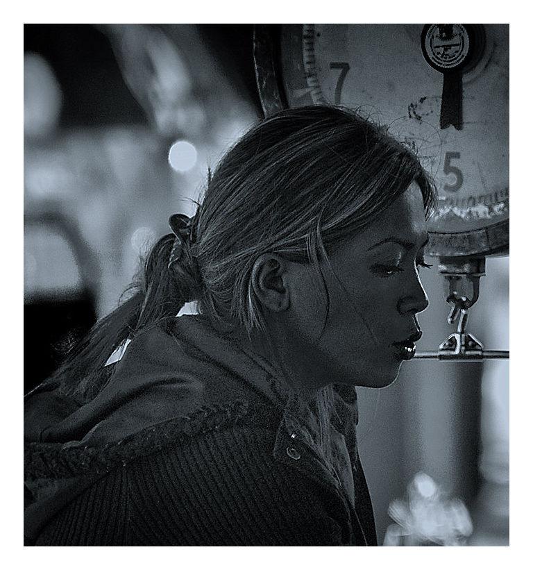 woman vendor farmer