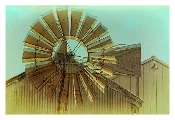 twirling windmill . . .